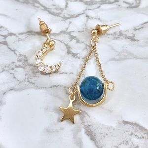 Gorgeous Star Earrings ⭐️ 🌙 🌏